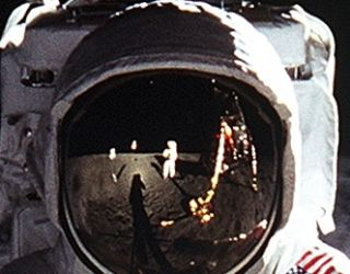 There Are No Photos of Neil Armstrong on the Moon?