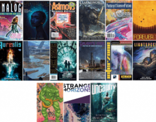 CURRENT ISSUES: Periodical SF, Fantasy & Horror
