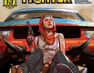 Comic Review: Ian Livingstone's Freeway Fighter