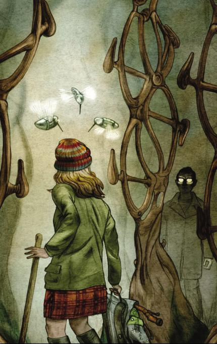 Jonathan Burton's art for Ken MacLeod's 'The Bicycle-Frame Tree Plantation Manager's Redundancy'