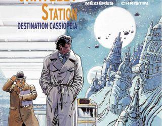 Valérian, monument de la bande dessinée de science fiction française.