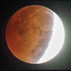 Partial Lunar Eclipse Today