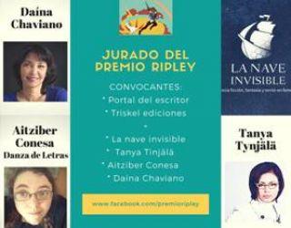 Premio Ripley de relatos de género de terror y Ciencia Ficción