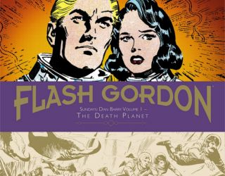 Review: FLASH GORDON SUNDAYS: DAN BARRY VOLUME 1 – THE DEATH PLANET, 1967-1971