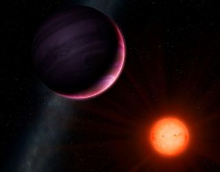 Newly discovered planet is nearly 25 percent the size of its star