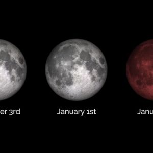 Full Moon Sunday Kicks Off 'Supermoon Trilogy,' Including a Lunar Eclipse