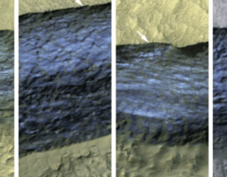 Large sheets of ice may have been spotted on Mars