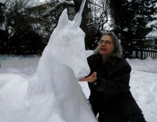 Scotland's Snow Storm…and a Unicorn