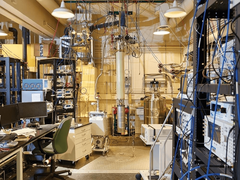 Inside the heart of the quantum computer