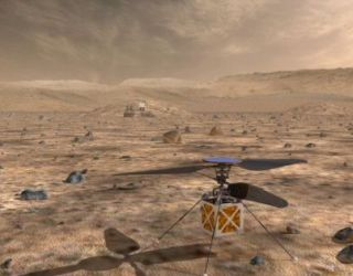 NASA Just Unveiled This Awesome, Tiny Helicopter That Will Cruise Over Mars