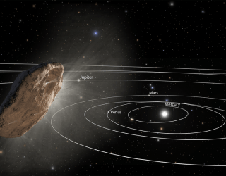 First Known Interstellar Object Gets Unexpected Speed Boost