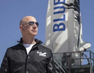 Amazon Founder Jeff Bezos Reveals Plans to Colonize the Moon