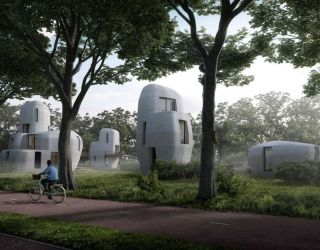 3D Printed House – Organic, futuristic, homes.
