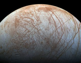 It Looks Like Europa's Surface Is Covered With Gigantic Shards of Ice