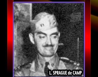 Happy Birthday L. Sprague De Camp Celebrated with Walter Day SF Trading Card