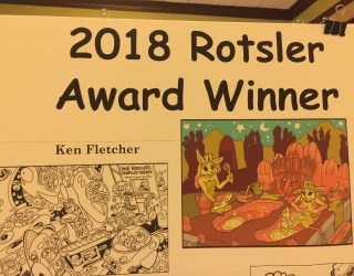 2018 ROTSLER AWARD PRESENTED TO KEN FLETCHER