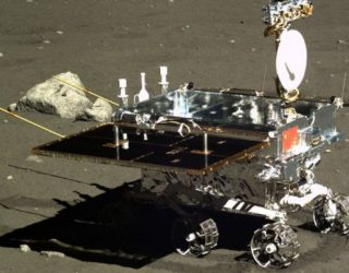 China's Moon Lander in Lunar Orbit