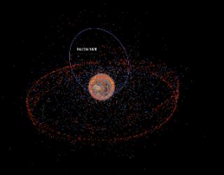 Stuff in Space website Tracks Space Debris