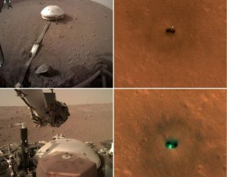 NASA Spies InSight Mars Lander from Space as It Hunts Marsquakes (Photos) | Space