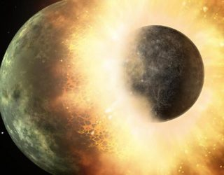 Planetary Collision That Created Moon Also Made Life on Earth Possible