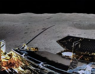 China's Chang'e-4 Sends Back First Panorama From Far Side of The Moon