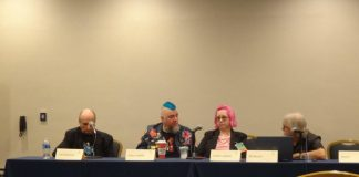 Panel from Loscon 46, photo courtesy of Recursor.TV