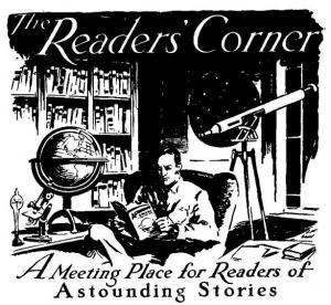 Astounding Stories Readers' Corner